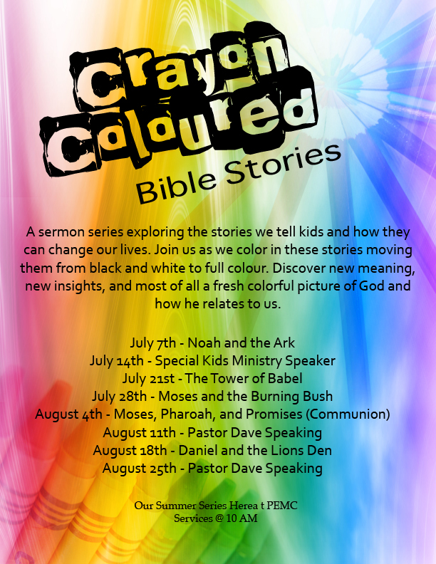 Crayon Coloured Bible Stories
