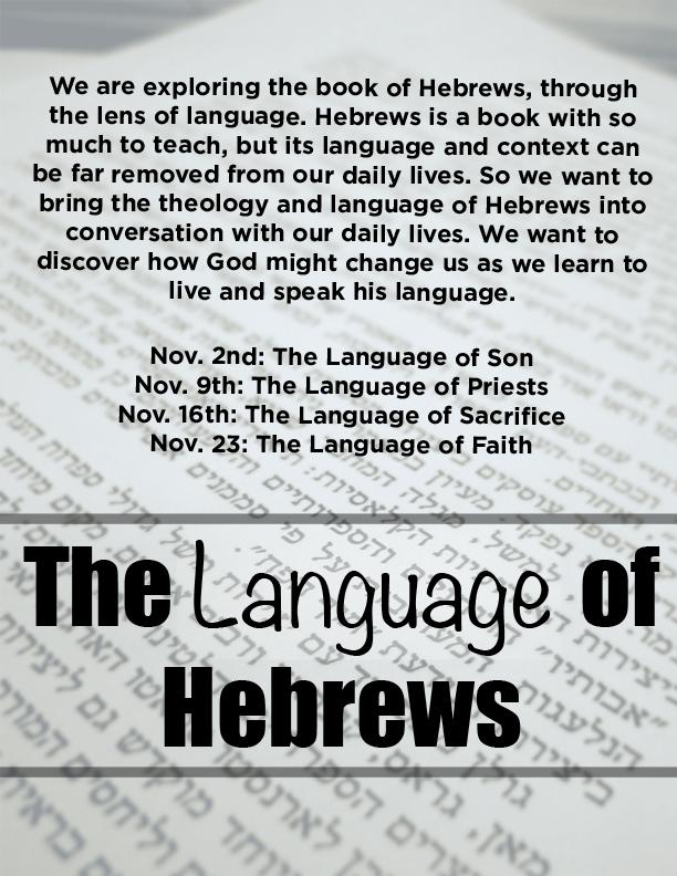 Language of Hebrews