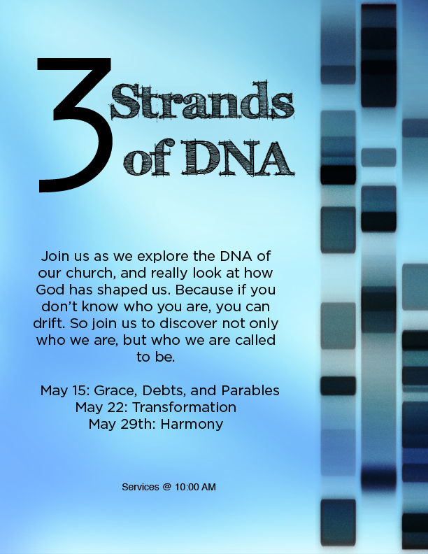 3 Strands of DNA