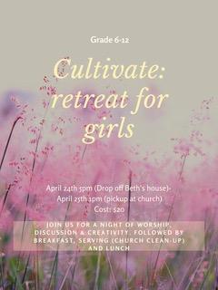 Cultivate April 24