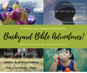 Backyard Bible Adventures
